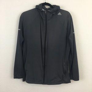 Adidas Running Hooded Lightweight Jacket Size XL